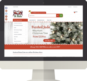 St. Nicks Christmas Shopping Website