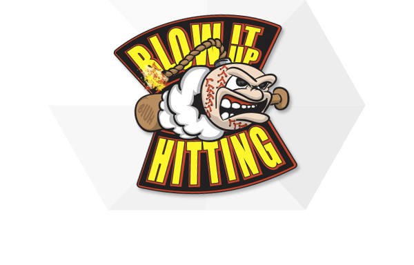 Blow It Up Hitting Logo Design