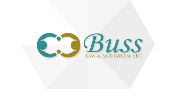 Buss Law and Mediation Logo Design