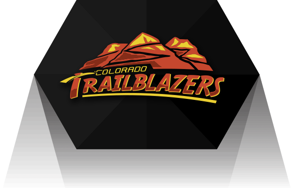 Colorado Trailblazers logo design