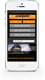 Unser Website Mobile Phone